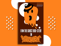 I am the ghost boo-ster