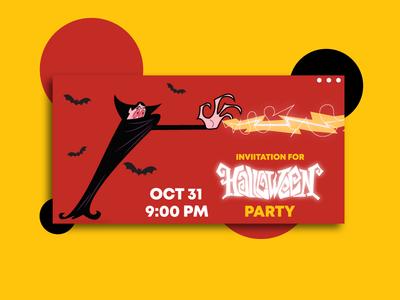 Invitation for Halloween