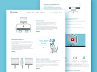 Concept product pages