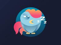 Sleepy rooster