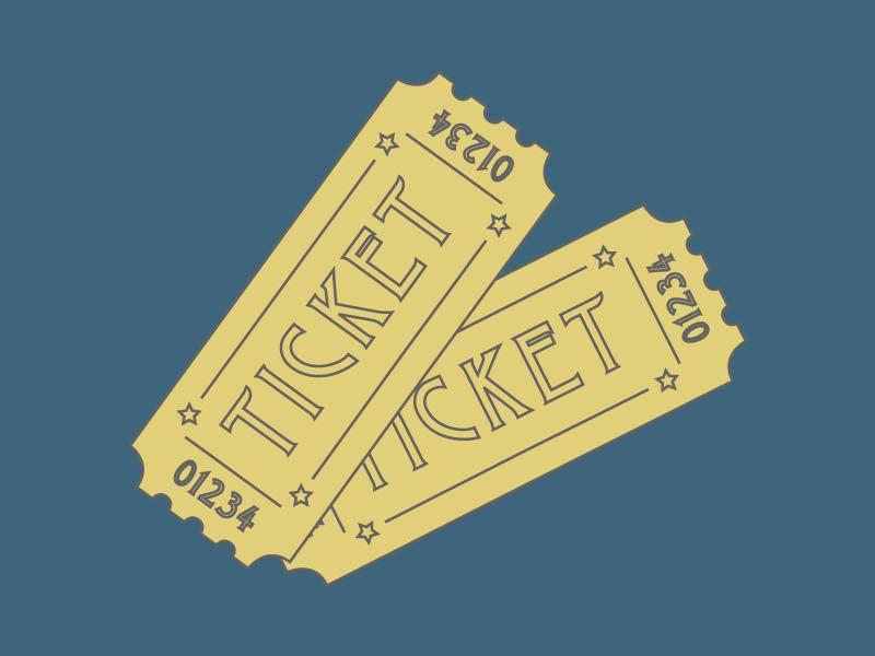 Tickets illustration