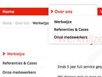 Open Sans, Transparent dropdown