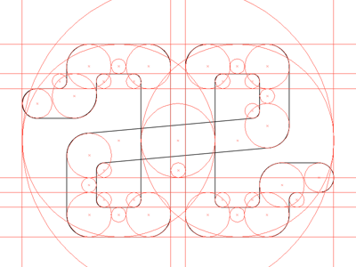 AE Logo Concept, Fibonacci series logo wip fibonacci golden ratio