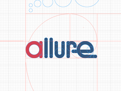 Allure, WIP logo fibonacci golden ratio wip