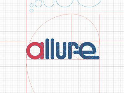 Allure, WIP logo fibonacci golden ratio wip