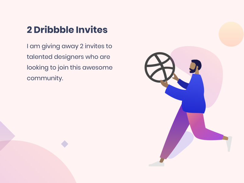 Dribbble Invites dribbble draft dribbble best shot dribbble debut invites dribbble