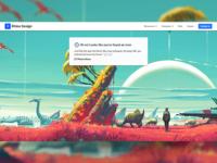 No Mans Sky - 404 Page
