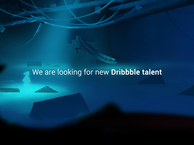 Talented designers wanted!
