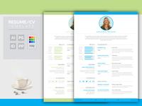 Resume Cv Coverletter  Design