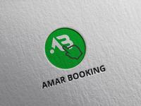 Amar Booking logo
