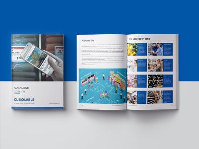 Catalog Design typography illustration company corporate agency graphic design brochure design catalog gesign
