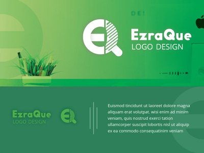 Eq Logo illustrations graphic design corporate marketing logo ecommerce logo agency logotype logodesign logo