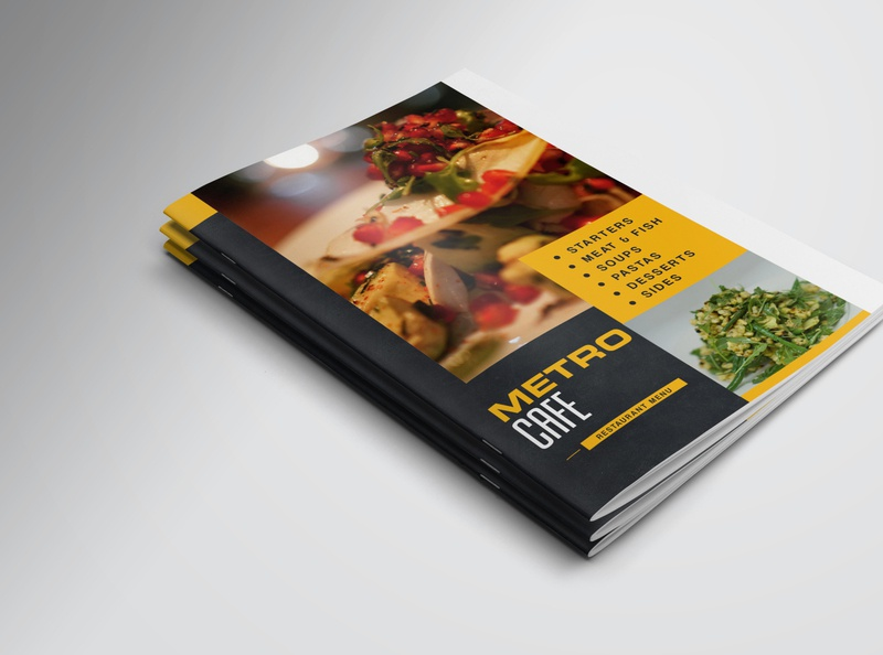 Menu Card Design illustration a4 company brochure graphic design agency restaurant ui food ui food menu flyer restaurant menu design menu card design