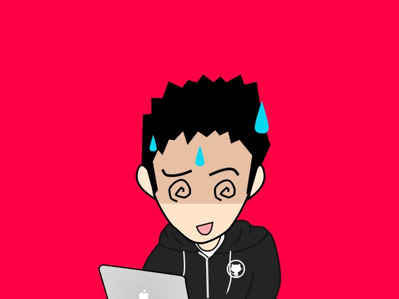 Kenchan profile icon illustraion