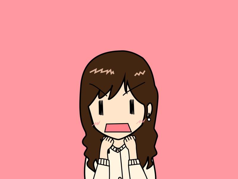 Maria profile icon illustration