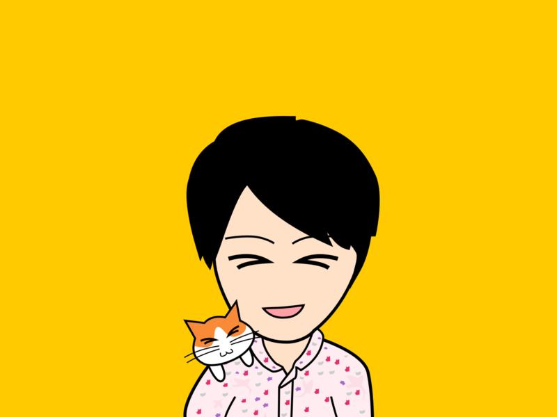Tomy profile illustration icon