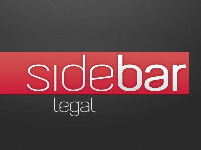 Sidebar Legal Logo logo concept