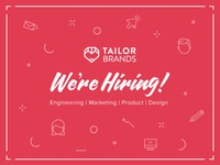 Hiring at Tailor Brands!