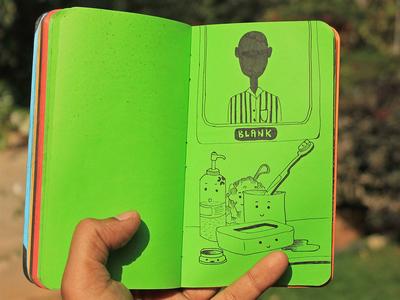 807a3951566037.58f229bd3d747 vector design ink illustration illustration book blank brush ink doodle art doodle