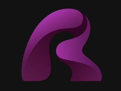 Realmac Logo 2013 logotype logo realmac software r purple