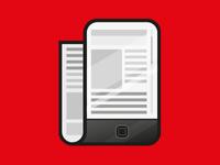 News icon mock-up