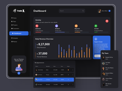 Trade dashboard shots new fresh dribbble deal community boosted announcement design ui web