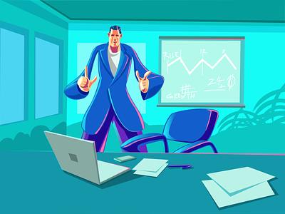 Work work work 🤓 procreate illustrator pencil art office illustration office working illustration work working illustration