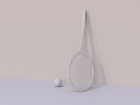 Racquet finale dribbble clay