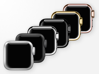Free - PSD and Icons - Apple Watch Icon