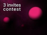 3 invites contest
