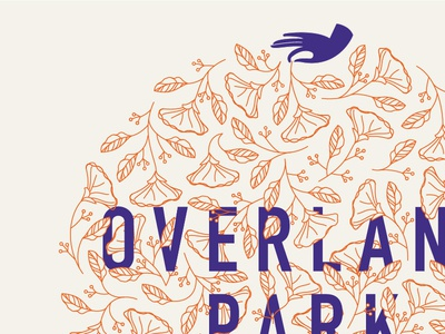 Overland Park detail shot art art print graphic design illustration