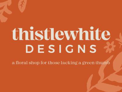 Thistlewhite Designs | logo & branding icon design typography logo design logo branding graphic design art illustration