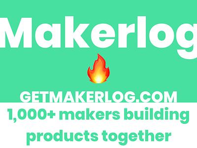 Makerlog makers random design website makerlog