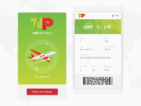 Boarding Pass Daily UI Challenge #024