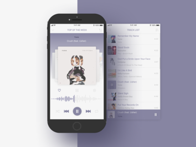 Music Player Daily UI Challenge