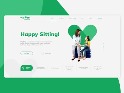 ErgoErgo | Happy Sitting!