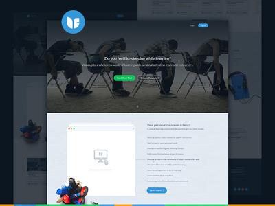 ufaber landing page