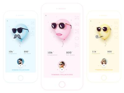 Sunglass app concept