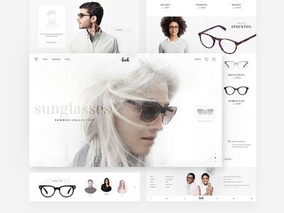 Sunglass : Web Design