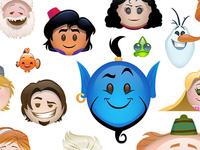 Frozen As Told By Emoji
