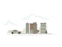 Car City Illustration