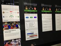 Football App / iOS