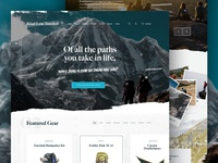 The Road Less Traveled - A Web Design Concept
