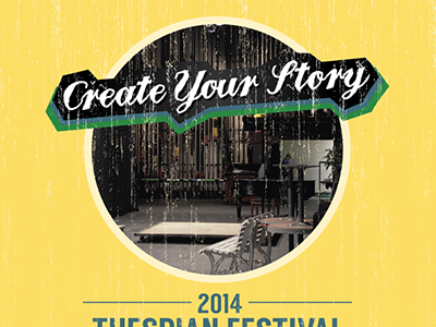 Thespian Festival Poster poster