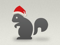 Santa Squirrel Redeux squirrel santa