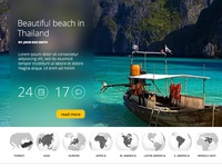 Traveling webiste