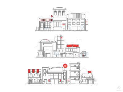 Boost Business [2017] branding vector ui design illustration cashless boost malaysia
