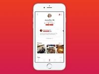 Yelp Social Profile Redesign