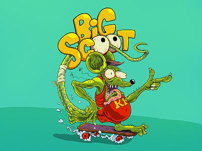 Big Scoot art illustration