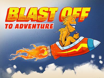 Blast Off illustration